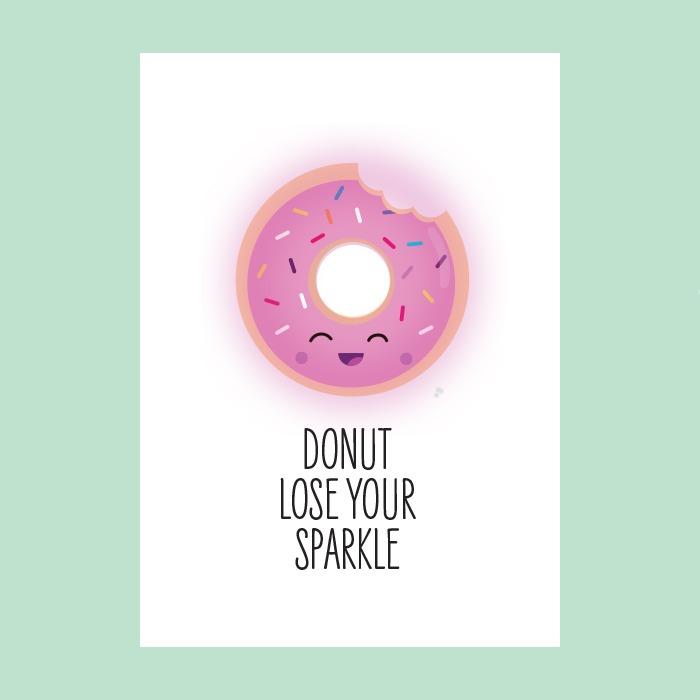 Donut lose your sparkle