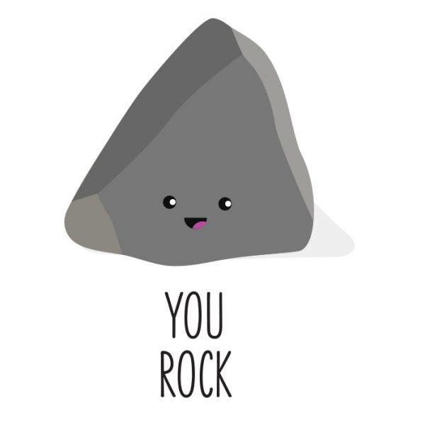 You rock kaart sturen