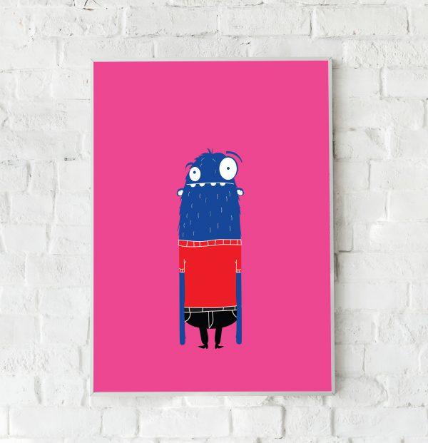 Monster lang poster