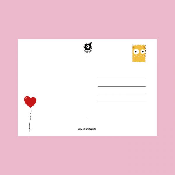 Kaart sturen liefde