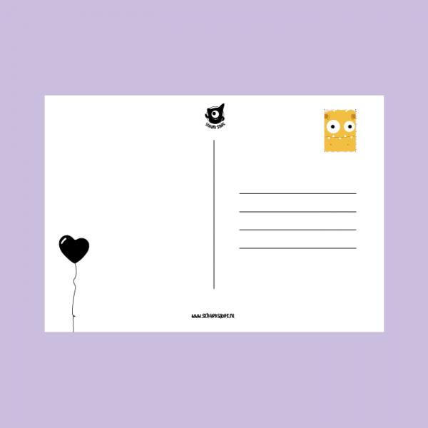 monsterkaart opeten