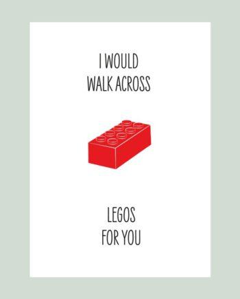 Kaart legos