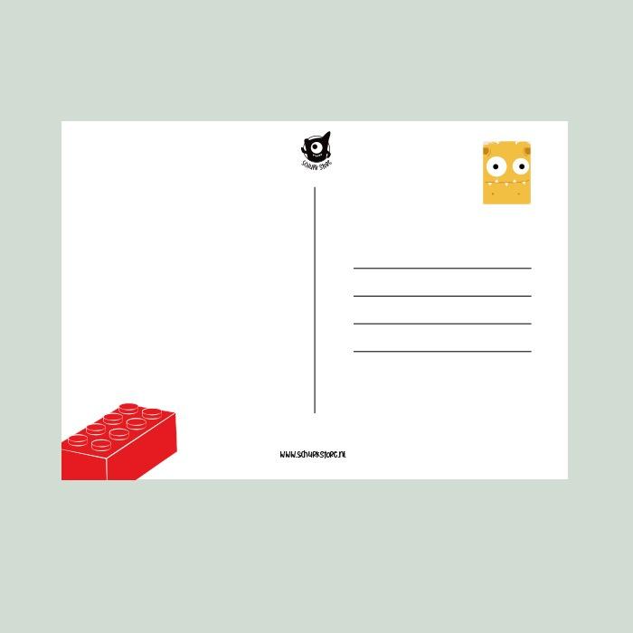 Lego kaart sturen