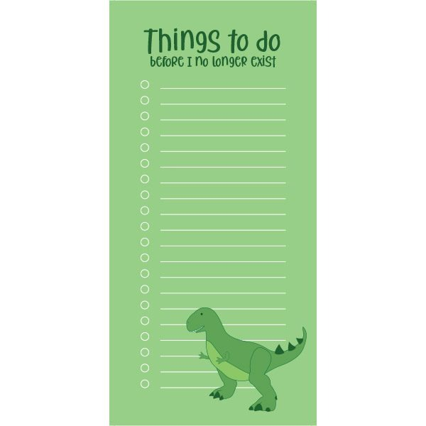 to do lijst dino