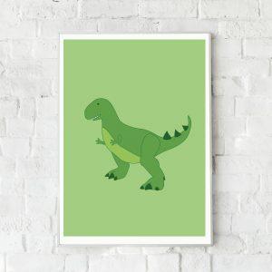 dinosaurus poster A3