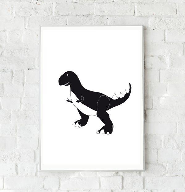 Dino poster jongenskamer