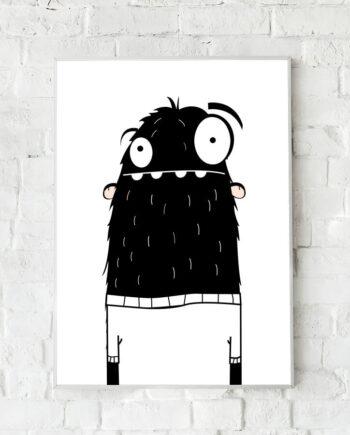 Monster poster lief monster
