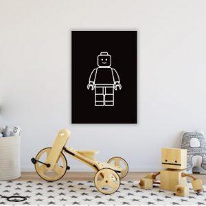 Lego poster kinderkamer