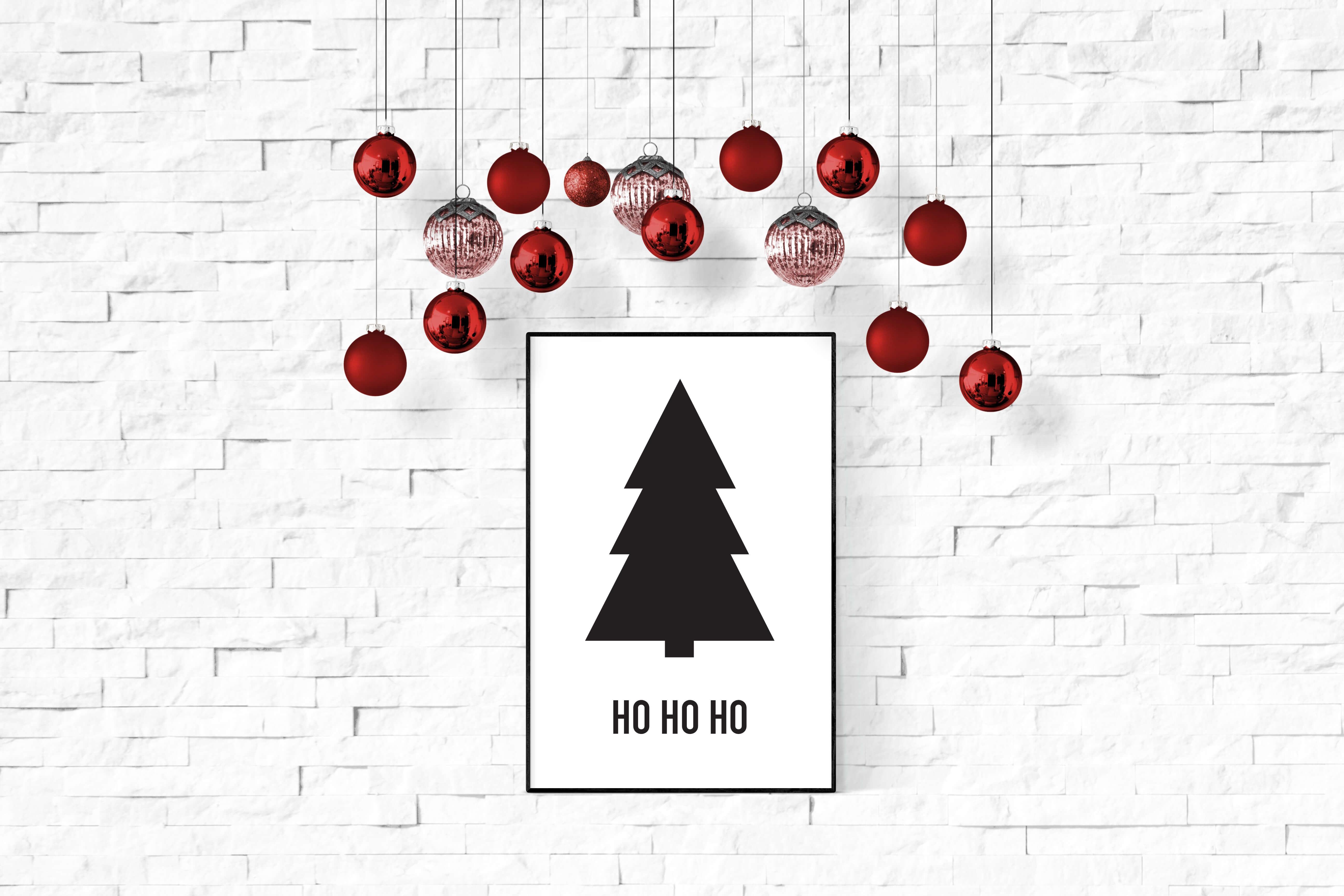 kerstposter kerstboom